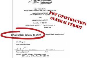 NEW Construction General Permit