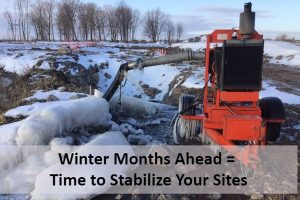 Prepare Your Construction Sites for NYSDEC Winter Stabilization Guidelines