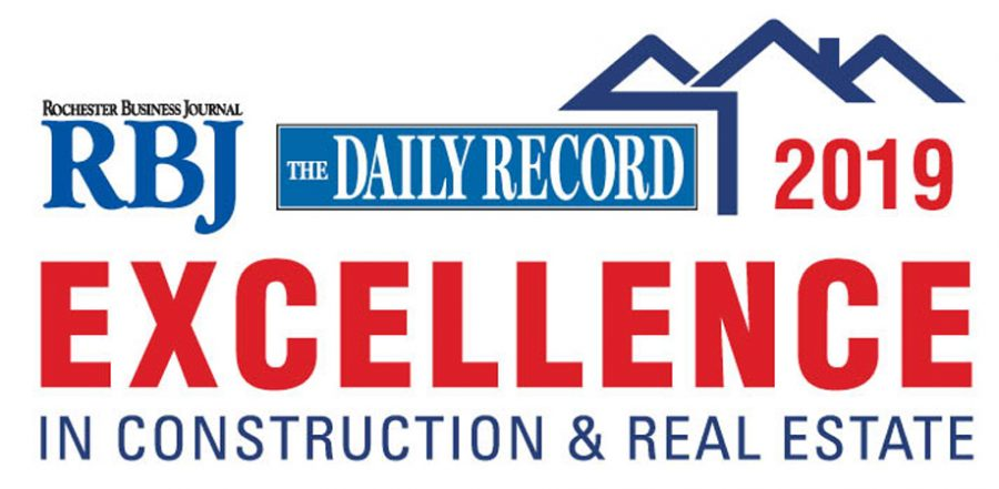 BME Earns Rochester Business Journal Excellence in Construction & Real Estate Award